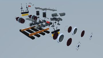 Tram bogie disassembly Minecraft Map & Project
