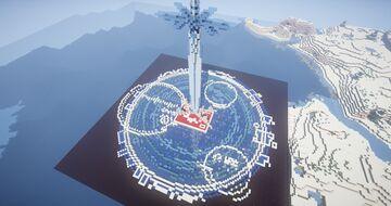 Blue Rose Sword (SAO Alicization) Minecraft Map & Project