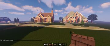 Suburban Mansion Minecraft Map & Project