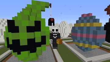 Oogie Boogie Easter Egg Minecraft Map & Project