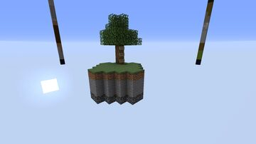 Sky block The 4 Pillar Minecraft Map & Project