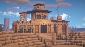 Desert Adobe Minecraft Map & Project