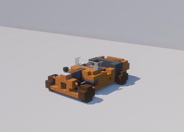 Custom Hotrod Mach IV Minecraft Map & Project