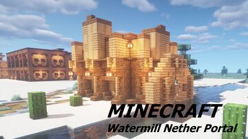 Wild West Nether Portal House Minecraft Map & Project