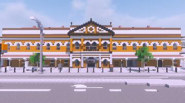South Brisbane Station 1.5:1 [World Download] Minecraft Map & Project