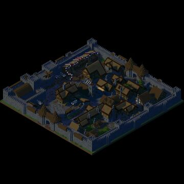 City of Uxkhal Minecraft Map & Project