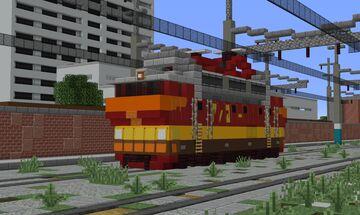 ChS4T / 62E (Czechoslovak Electric Locomotive) (USSR) Minecraft Map & Project