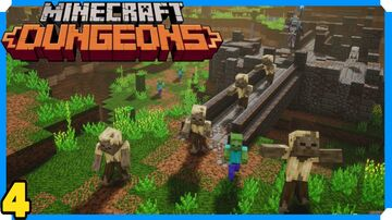 Minecraft Dungeons Full Game Walkthrough | 4 | Cacti Canyon Minecraft Map & Project