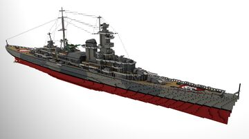 KMS Admiral Hipper | Admiral Hipper-class cruiser Minecraft Map & Project