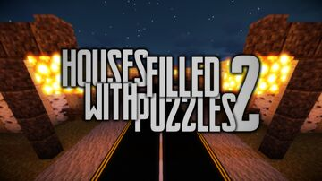 Houses Filled With Puzzles 2 Minecraft Map & Project