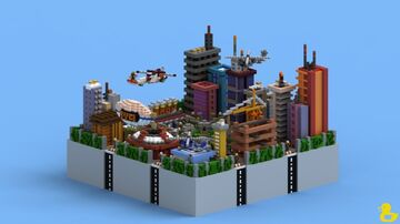 Citymine Lobby Minecraft Map & Project