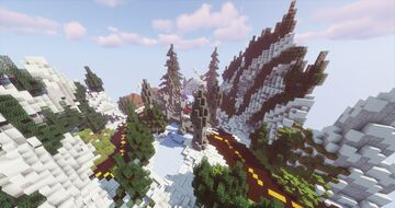Snow Map Minecraft Server Mini Game Murder or Hide and Seek - StarDix Minecraft Map & Project