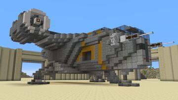 The Mandalorian - Razor Crest  |  Interior  |  Download Minecraft Map & Project