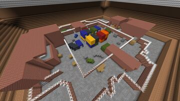 Airsoft 1.0 (multiplayer minigame) Minecraft Map & Project