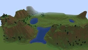 Hidden Kingdom Template Minecraft Map & Project