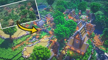 Minecraft: Village Transformation Minecraft Map & Project