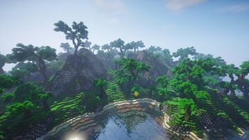 Small Jungle Island Minecraft Map & Project
