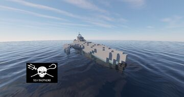 Sea Shepherd | Bridget Bardot | Minecraft Map & Project