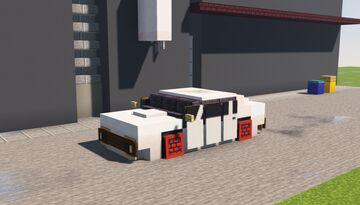 Dodge Challenger SRT Demon Minecraft Map & Project