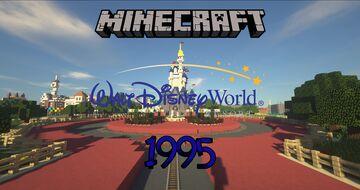 Walt Disney World 1995 Minecraft Map & Project