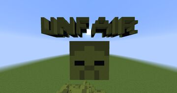 Unfair Zombie v1.0 Minecraft Map & Project