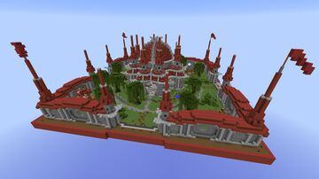 Red Spawn 1.8 Minecraft Map & Project