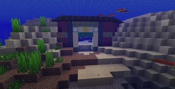 A Mermaid's Home Minecraft Map & Project