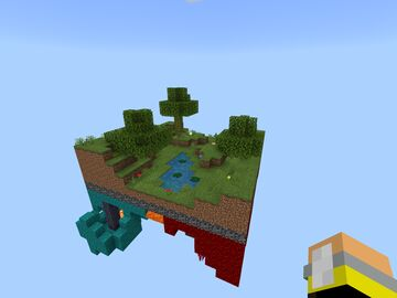One chunk over/nether world thing! Minecraft Map & Project