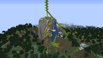Mountain Coaster Minecraft Map & Project