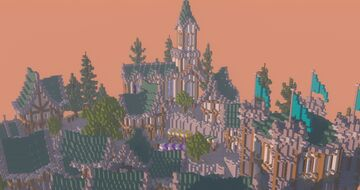 French Town Survival Spawn   Aderlyon Build Team Minecraft Map & Project