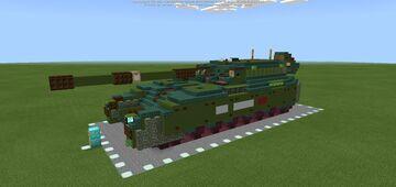 T-900 Ilya Muromets (Object 2050) Super Heavy Tank Minecraft Map & Project
