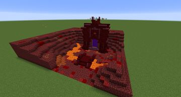 Overworld Netherportal Design - Download Minecraft Map & Project