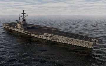 USS Ranger CV-61 Minecraft Map & Project