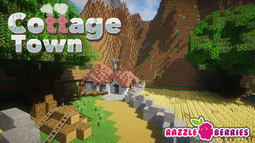 Cottage Town Minecraft Map & Project