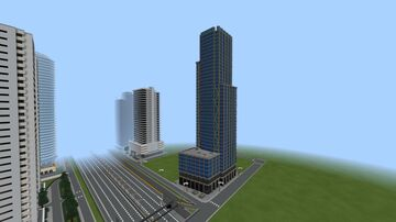 Three World Trade Center in MINECRAFT Minecraft Map & Project