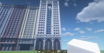 American Express Building Minecraft Map & Project