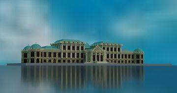 Belvedere in Vienna Minecraft Map & Project