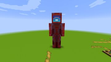 Red Statue - (Among Us) Minecraft Map & Project