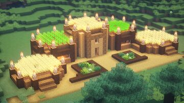 SIMPLE Survival House Minecraft Map & Project
