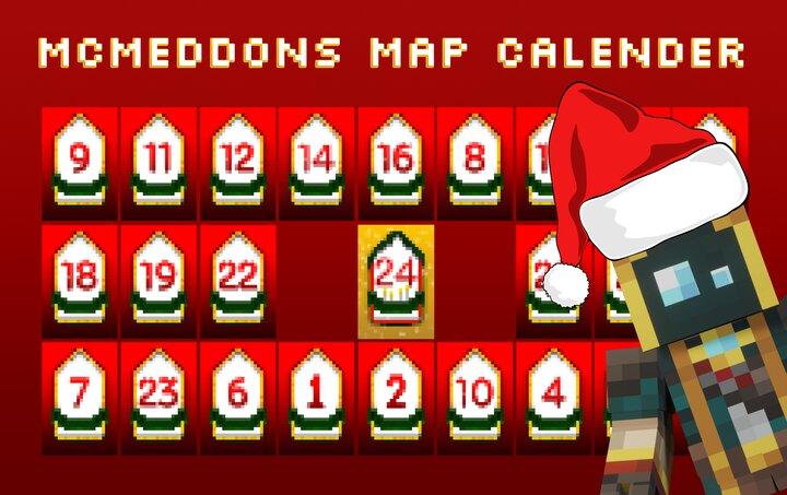 McMeddons Advent Maps