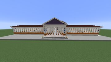 Porticus of Octavia, and Temples of Juno Regina and Jupiter Stator. Minecraft Map & Project