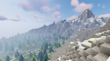 Forested Island 4k/4k Minecraft Map & Project