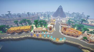Jurassic World Map 2015 Isla Nublar Map 2015 v5 Map - Lake Area Finished June 2020 Minecraft Map & Project