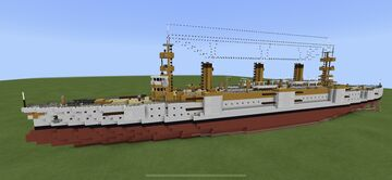USS Martinsburg ACR-10 Minecraft Map & Project