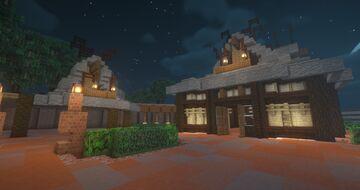 Tahitian Terrace [Hong Kong Disneyland] Minecraft Map & Project