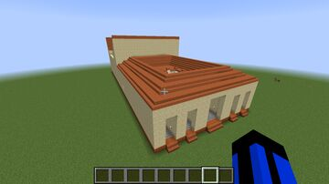 Ancient Roman Domus/House Minecraft Map & Project