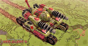 Tesla tank | C&C Red Alert 3 [1.12] Minecraft Map & Project