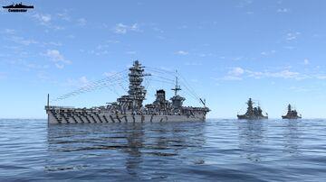 IJN Awaji 1:1 Scale (Fictional Fuso Class Battleship) Ft Renown Minecraft Map & Project