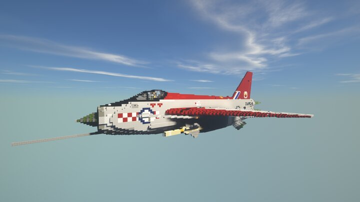 Popular Server Map : English Electric Lightning F.6 | XS929 10:1