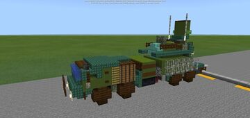 Pantsir-SM Air Defence System Minecraft Map & Project